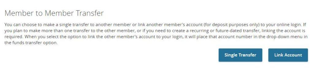 Member to Member Transfer