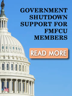 Government Shutdown Support for FMFCU Members