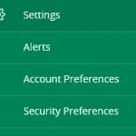 Settings - Alerts