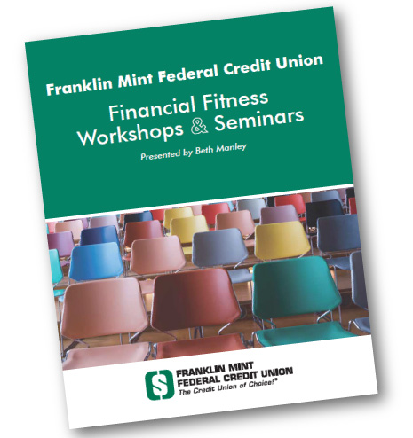 Financial Fitness Workshops Book Cover Page