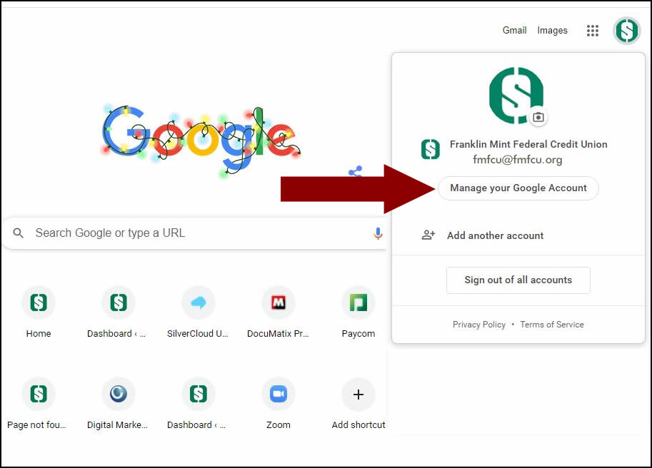 Google Security Check Step 2