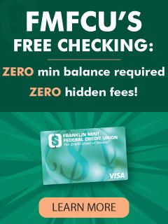FMFCU free checking has zero min balance required and zero hidden fees