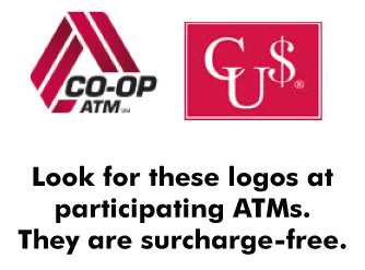 FMFCU Co Op Branches and ATMs