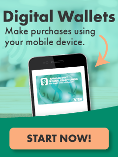 Digital Wallets. Make purchases using just a mobile device. Start now.