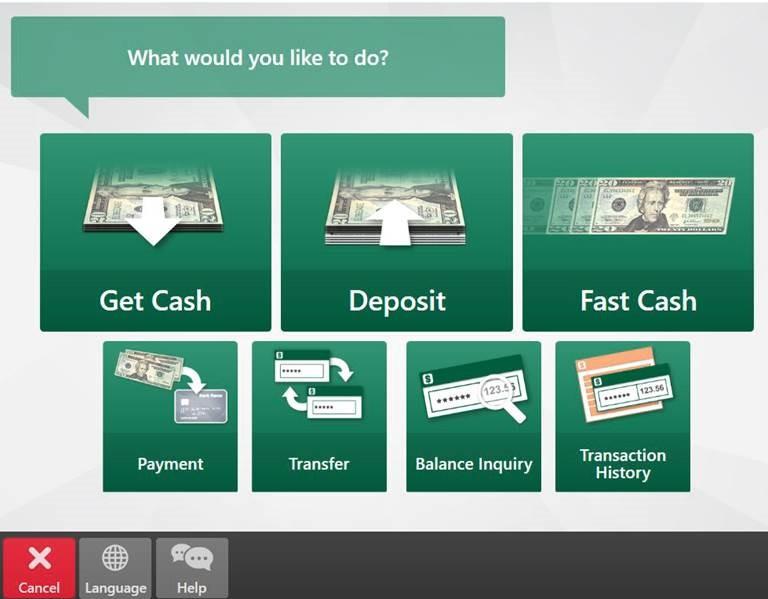 tap deposit